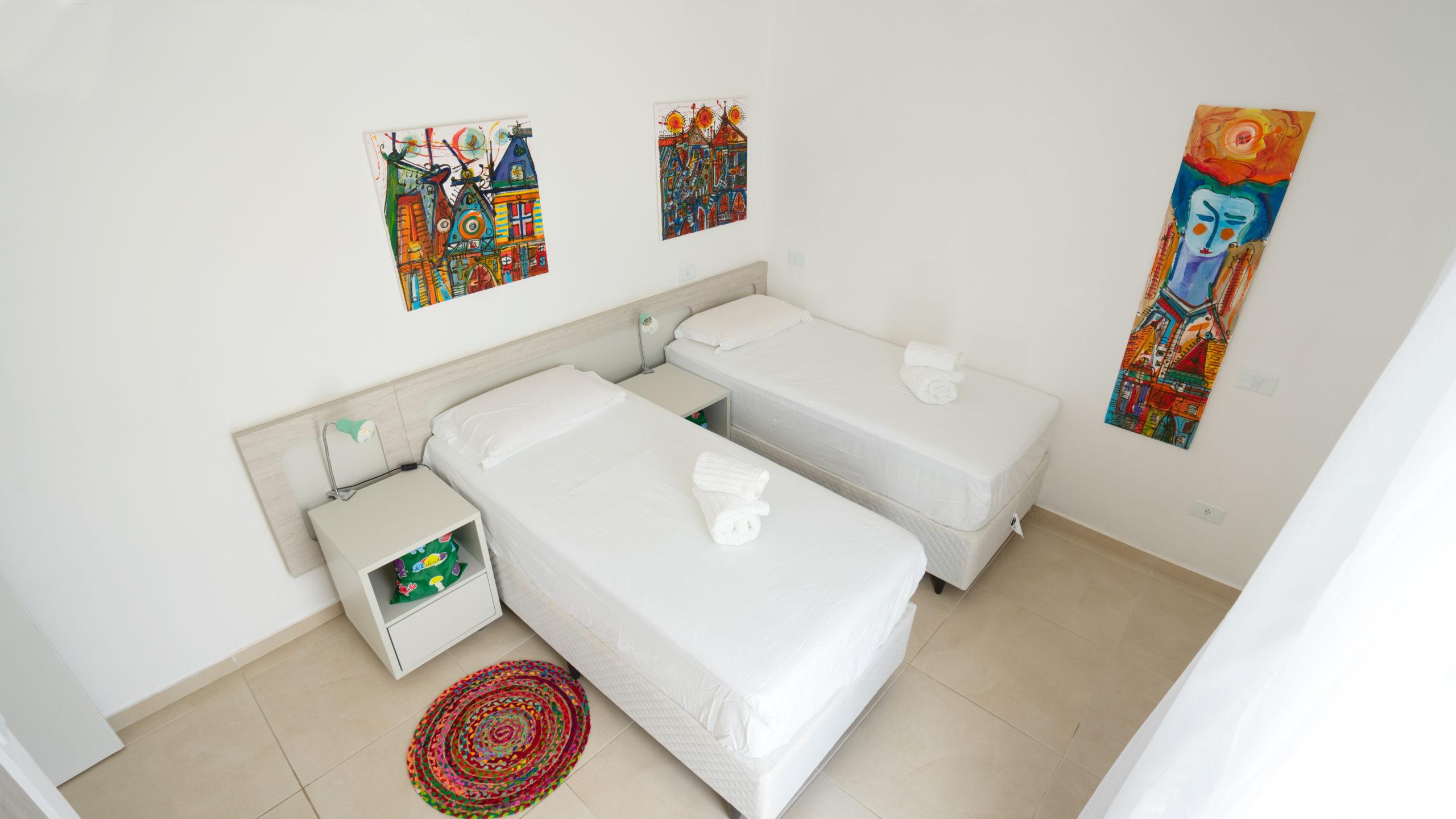 twin room 205